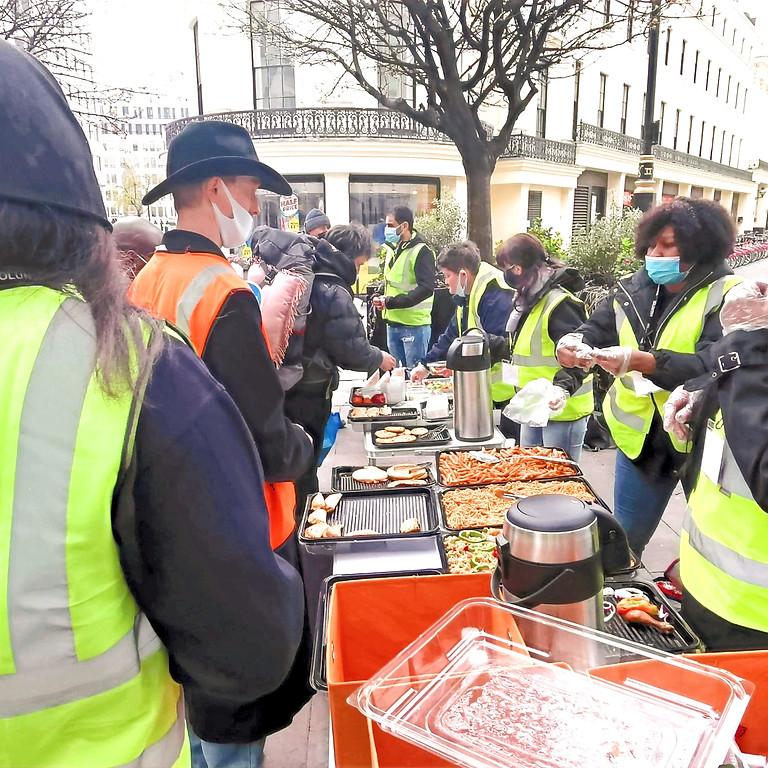 Homeless Outreach - Central London