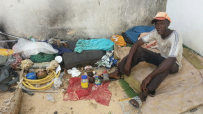 This Man Is Not Mad: He Is Just Very Poor and Homeless