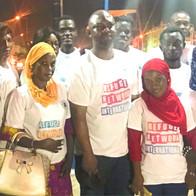 Volunteers in West Africa
