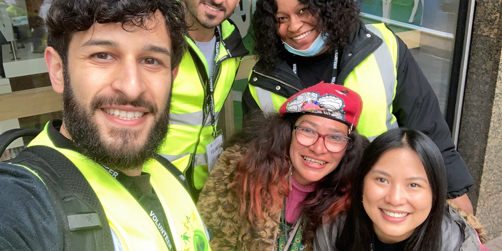 Multi Event Homeless Outreach - Victoria & Charing Cross