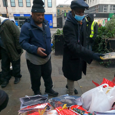 Serving Rough Sleepers in London