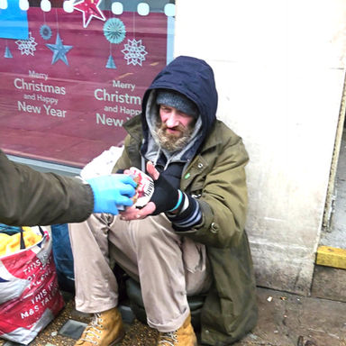 Supporting the homeless
