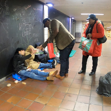 Supporting Rough Sleepers