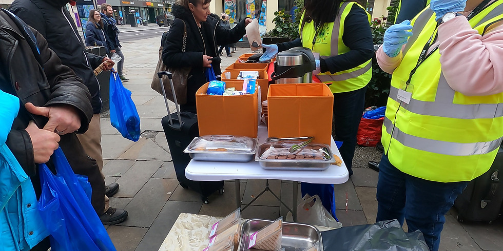 Soup Kitchen & Central London Homeless Outreach Events
