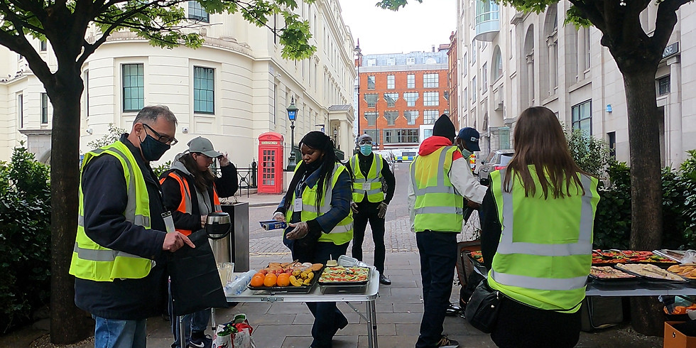 Soup Kitchen & Central London Outreach Events