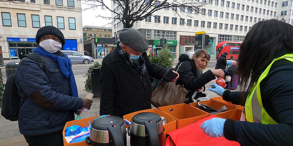 Special Charity Outreach In Central London