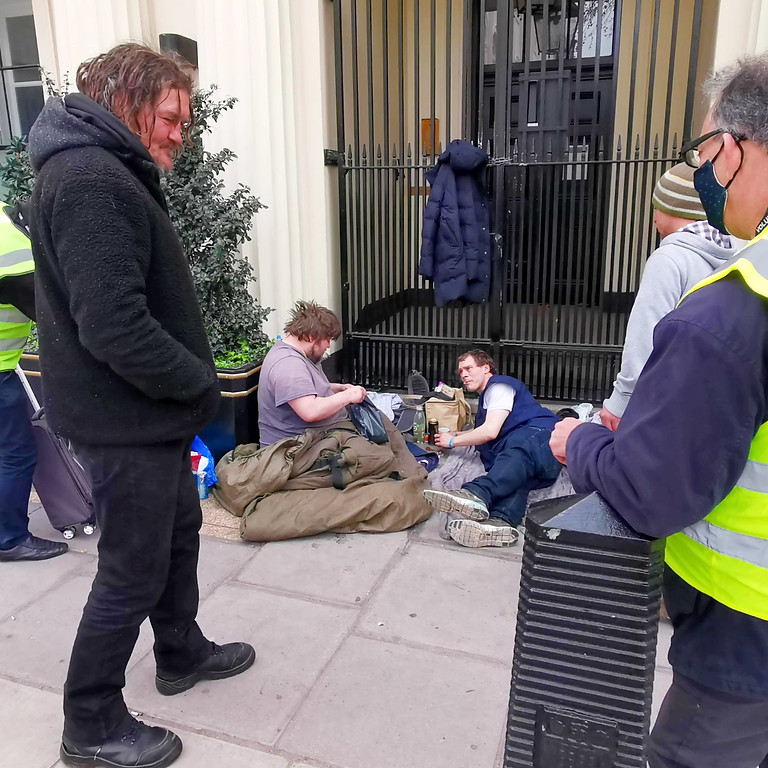 Homeless Outreach - Camden
