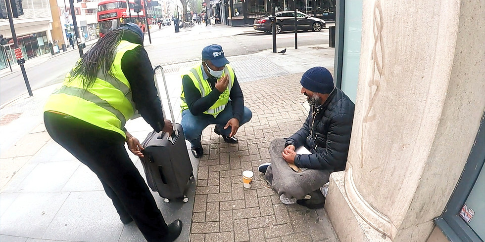 Homeless Outreach - Warren Street & Goodge Street