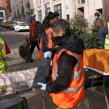 Packaging Survival Kits for the Homeless
