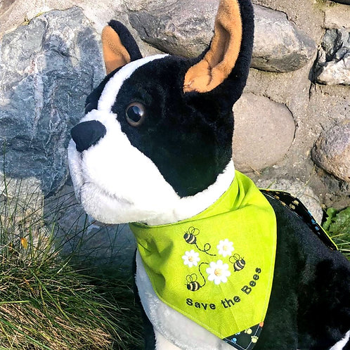 Save the Bees Dog Bandana