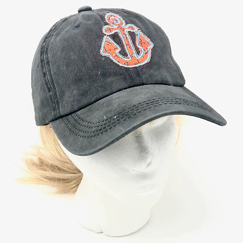 """""""ANCHORS"""" BASEBALL CAP"""