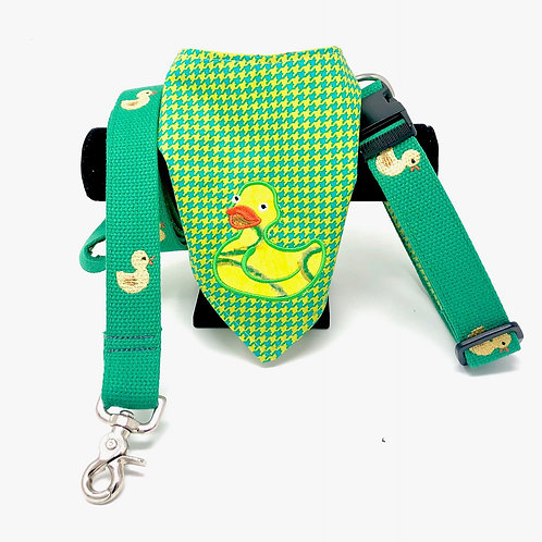 Rubber Duck Coordinating Collection (Collar/Leash/Bandana)