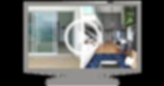 Tela de video para o projeto de Antes e Depois dos clientes Priscila e Eduardo.