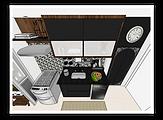 3D do projeto dos clientes Luciana e Jefferson.