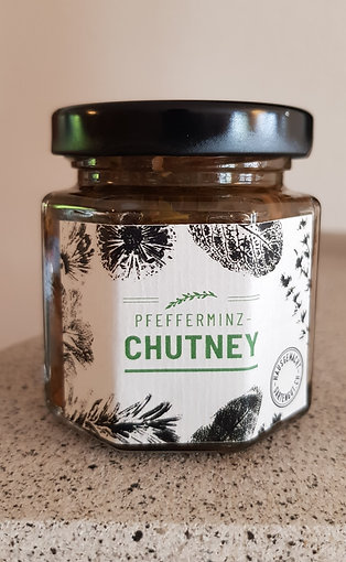 Pfefferminz-Chutney