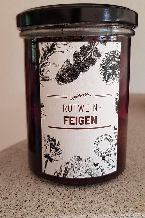 Rotwein-Feigen