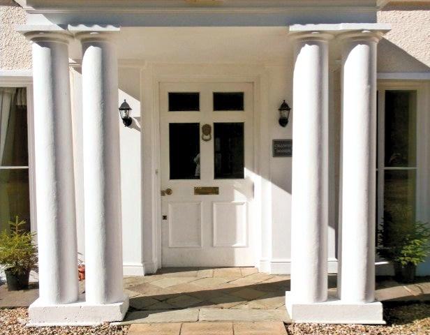 Cligwyn Manor House Entrance