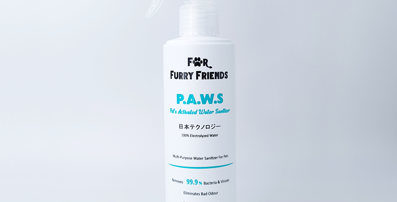 Pet's Activated Water Sanitizer (P.A.W.S) - 250ml