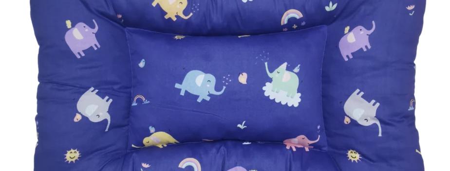 Elephants - Handmade Sleeping Mat