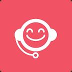 Service clientèle Icon - Rose