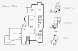 The Cottage Ground Floor Floorplan
