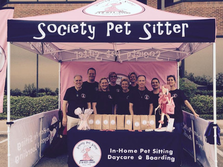 Society Pet Sitter for best in show for tent & set-up......