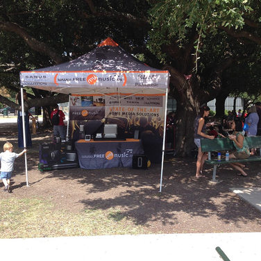 Music Pop Up Tent with graphics Dallas TX.jpg