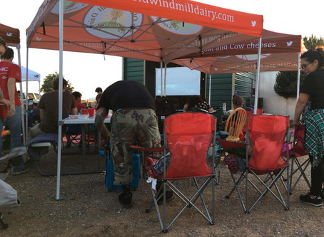 A Dairy co.  featured at the Reserve Tasting for Santa Fe Wine and Chile.