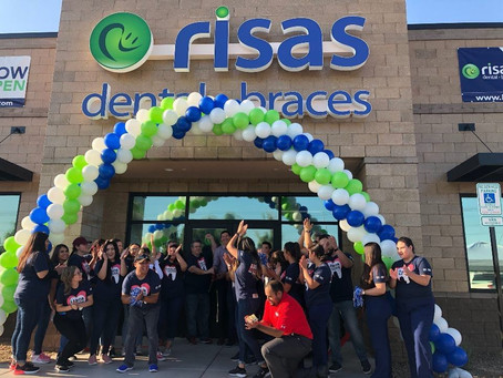 A dental practice that is growing so fast.....look for a @risasdental near you.