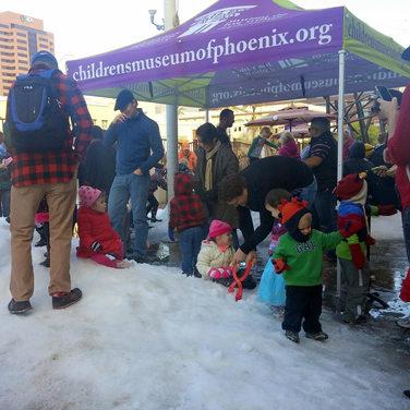 Tent with graphics  10x10 Phoenix AZ non-profit.jpg