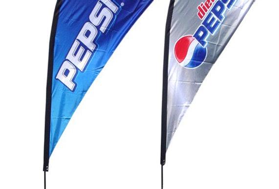 Tear Drop Flag (6 feet to 15 feet)