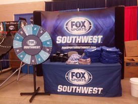 Fox Sports Southwest tulsa oklahoma 8ft Fitted Table Cover sports.jpg