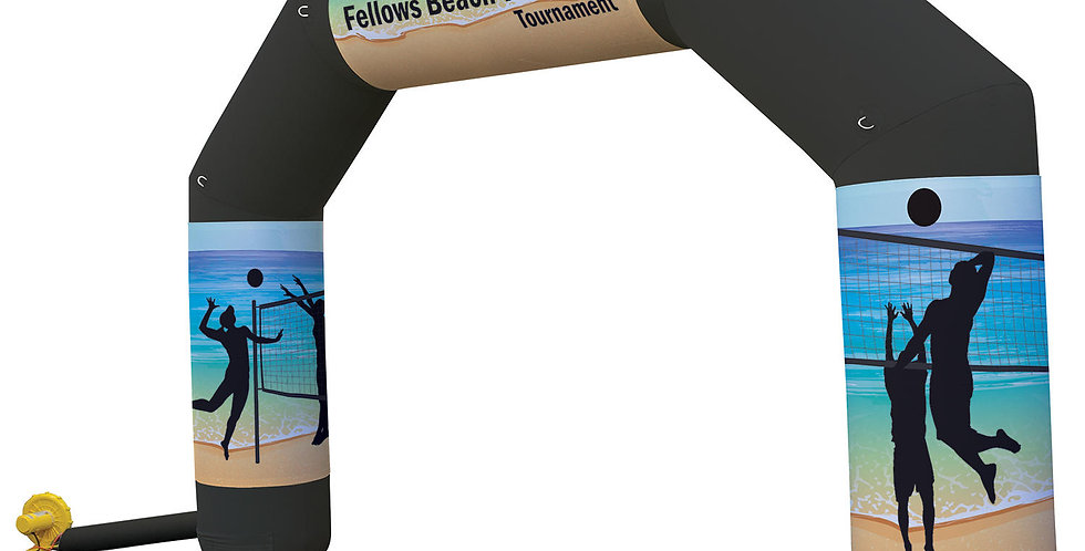 Jumbo Arch Inflatable Display