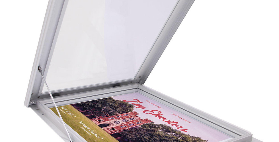 Outdoor Pop and Lock Frame