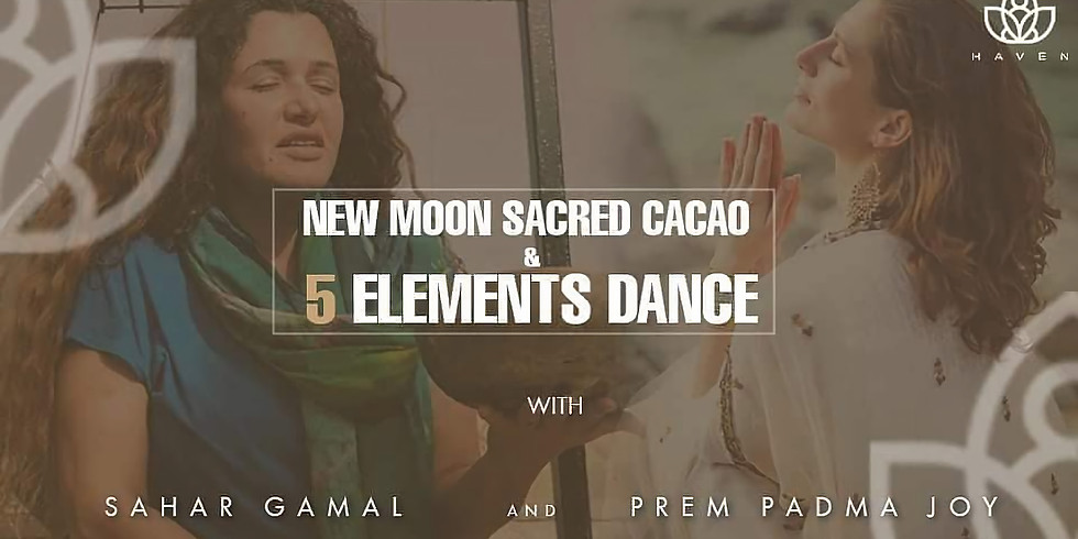 New Moon Sacred Cacao Ceremony & Element Dance
