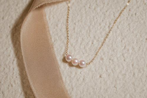 ELAIN | 14K Gold-Filled Akoya Pearl Necklace