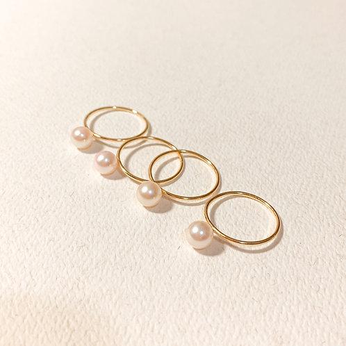 ARIA | 14K Gold-Filled Akoya Pearl Ring