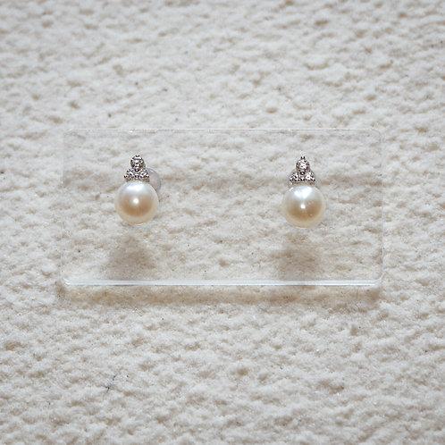 TIERRA | Silver 925 Freshwater Pearl Earrings