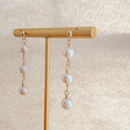 SEREN | 14K Gold-Filled Akoya Pearl Earrings