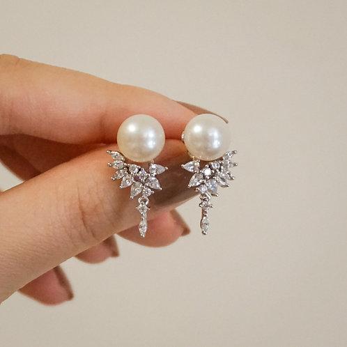 LEA | Silver 925 Freshwater Pearl Earrings