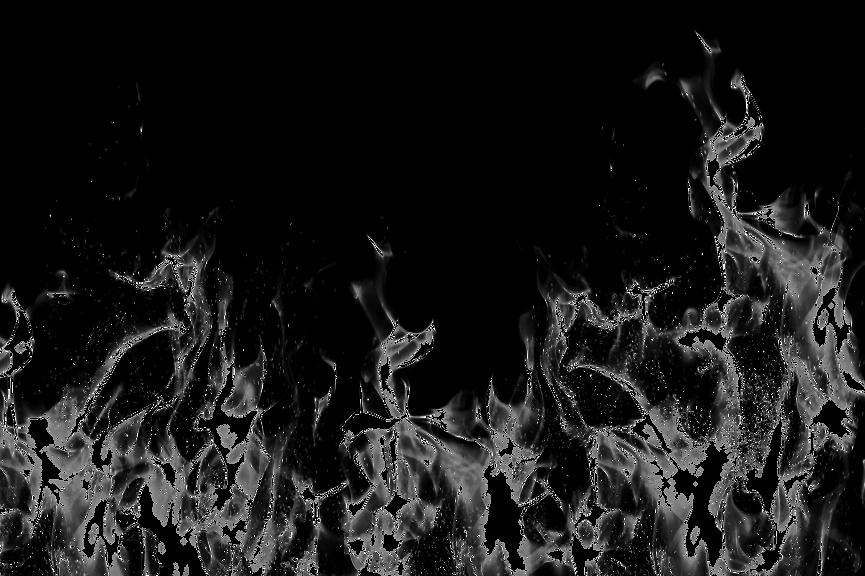 Feuer Transparent