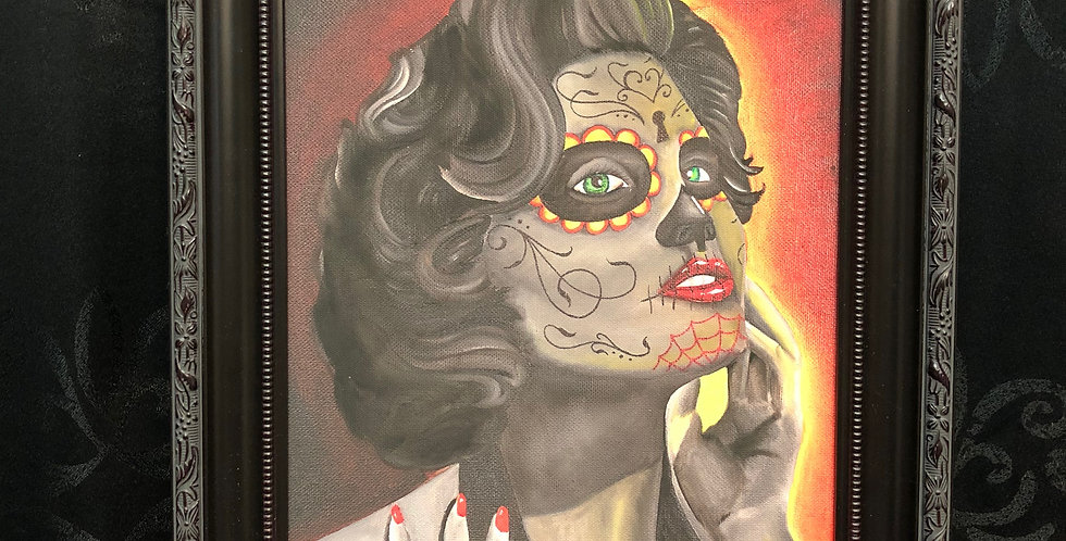 day of the dead 5 giclee b.