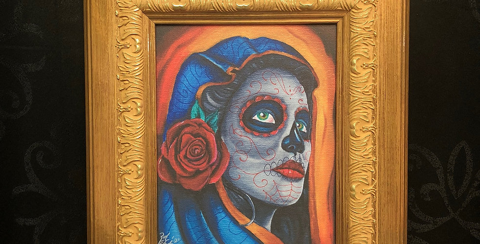 day of the dead giclee