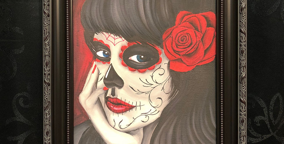 day of the dead girl 6 giclee