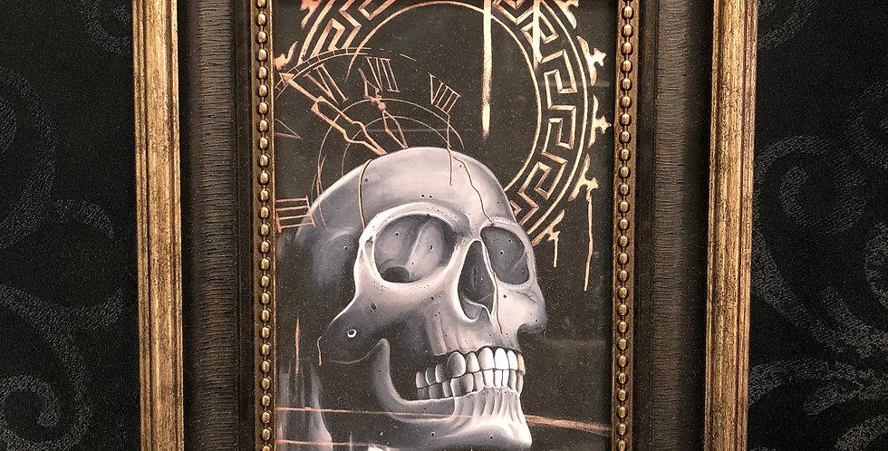 skull study print b.