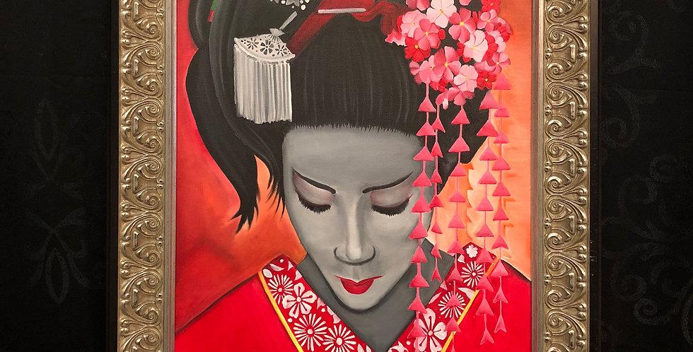 geisha 2 giclee