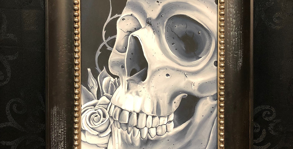 skull study giclee a.