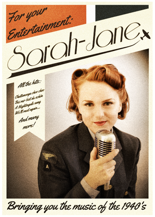 Miss Sarah Jane The 1940s Vocalist