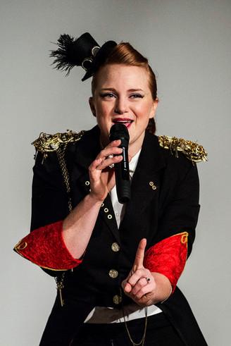 Madam Misfit Steampunk Electroswing entertainer
