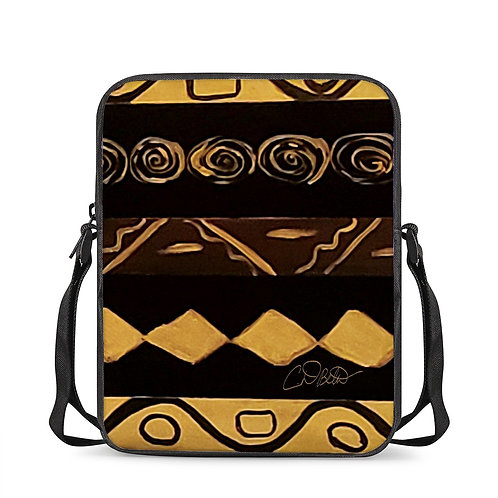 Black and Gold Cross-Body Bags